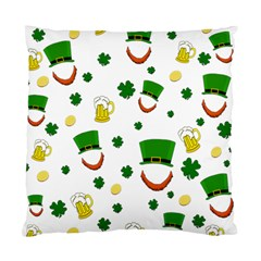 St  Patrick s Day Pattern Standard Cushion Case (two Sides) by Valentinaart