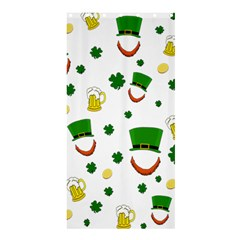 St  Patrick s Day Pattern Shower Curtain 36  X 72  (stall)  by Valentinaart