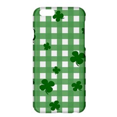 Clover Pattern Apple Iphone 6 Plus/6s Plus Hardshell Case by Valentinaart