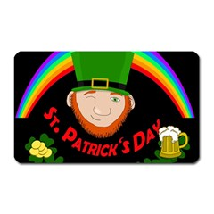 St  Patrick s Day Magnet (rectangular) by Valentinaart