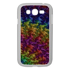 Fractal Art Design Colorful Samsung Galaxy Grand Duos I9082 Case (white)