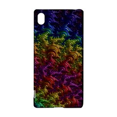 Fractal Art Design Colorful Sony Xperia Z3+