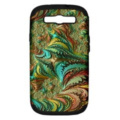 Fractal Artwork Pattern Digital Samsung Galaxy S Iii Hardshell Case (pc+silicone)