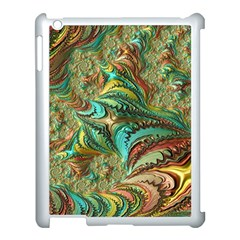 Fractal Artwork Pattern Digital Apple Ipad 3/4 Case (white)