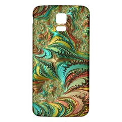 Fractal Artwork Pattern Digital Samsung Galaxy S5 Back Case (white)