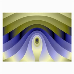 Fractal Eye Fantasy Digital Large Glasses Cloth (2 Side)