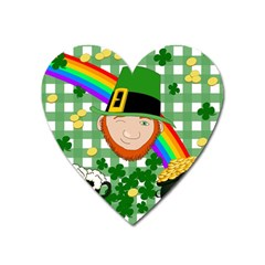 Lucky Irish Heart Magnet by Valentinaart