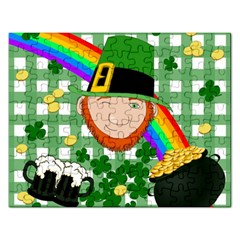 Lucky Irish Rectangular Jigsaw Puzzl by Valentinaart