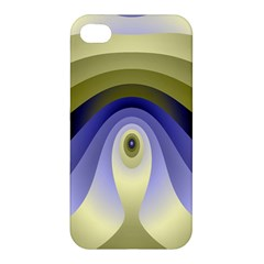 Fractal Eye Fantasy Digital Apple Iphone 4/4s Premium Hardshell Case