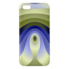 Fractal Eye Fantasy Digital Apple Iphone 5 Premium Hardshell Case by Nexatart