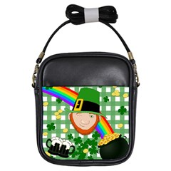 Lucky Irish Girls Sling Bags by Valentinaart
