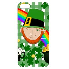Lucky Irish Apple Iphone 5 Hardshell Case With Stand by Valentinaart
