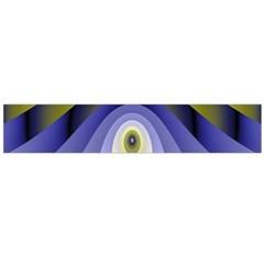 Fractal Eye Fantasy Digital Flano Scarf (large)
