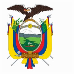 Coat Of Arms Of Ecuador Large Garden Flag (two Sides) by abbeyz71