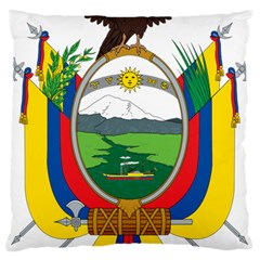 Coat Of Arms Of Ecuador Large Cushion Case (one Side) by abbeyz71