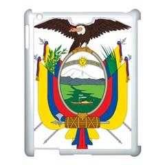 Coat Of Arms Of Ecuador Apple Ipad 3/4 Case (white) by abbeyz71