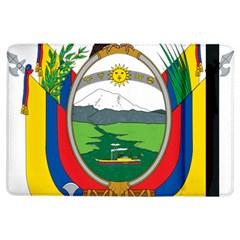 Coat Of Arms Of Ecuador Ipad Air Flip by abbeyz71