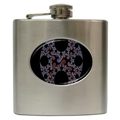 Fractal Complexity Geometric Hip Flask (6 Oz)