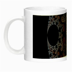 Fractal Complexity Geometric Night Luminous Mugs