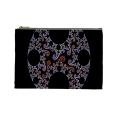 Fractal Complexity Geometric Cosmetic Bag (large)
