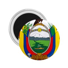 Coat Of Arms Of Ecuador 2 25  Magnets by abbeyz71