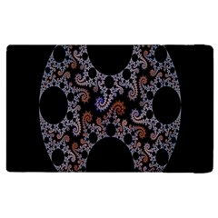 Fractal Complexity Geometric Apple Ipad 2 Flip Case by Nexatart