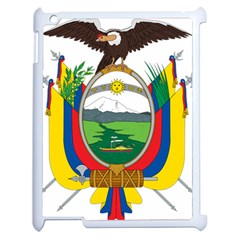 Coat Of Arms Of Ecuador Apple Ipad 2 Case (white) by abbeyz71