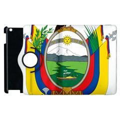 Coat Of Arms Of Ecuador Apple Ipad 3/4 Flip 360 Case by abbeyz71