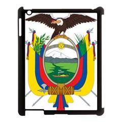 Coat Of Arms Of Ecuador Apple Ipad 3/4 Case (black) by abbeyz71