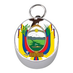 Coat Of Arms Of Ecuador Mini Silver Compasses by abbeyz71