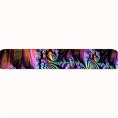Fractal Colorful Background Small Bar Mats