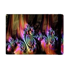 Fractal Colorful Background Apple Ipad Mini Flip Case