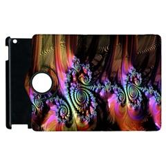 Fractal Colorful Background Apple Ipad 2 Flip 360 Case