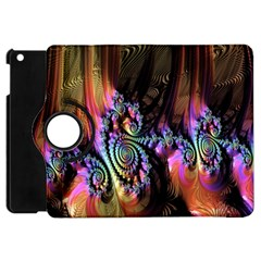 Fractal Colorful Background Apple Ipad Mini Flip 360 Case by Nexatart