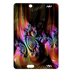 Fractal Colorful Background Amazon Kindle Fire Hd (2013) Hardshell Case by Nexatart