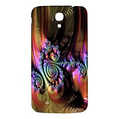 Fractal Colorful Background Samsung Galaxy Mega I9200 Hardshell Back Case by Nexatart