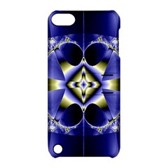 Fractal Fantasy Blue Beauty Apple Ipod Touch 5 Hardshell Case With Stand