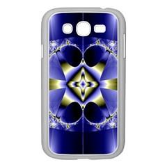 Fractal Fantasy Blue Beauty Samsung Galaxy Grand Duos I9082 Case (white)