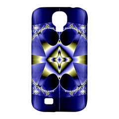 Fractal Fantasy Blue Beauty Samsung Galaxy S4 Classic Hardshell Case (pc+silicone) by Nexatart