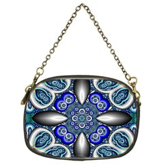 Fractal Cathedral Pattern Mosaic Chain Purses (one Side)