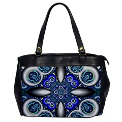 Fractal Cathedral Pattern Mosaic Office Handbags by Nexatart