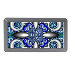 Fractal Cathedral Pattern Mosaic Memory Card Reader (mini) by Nexatart