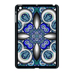Fractal Cathedral Pattern Mosaic Apple Ipad Mini Case (black)