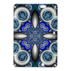 Fractal Cathedral Pattern Mosaic Kindle Fire Hdx 8 9  Hardshell Case