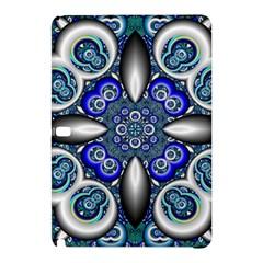 Fractal Cathedral Pattern Mosaic Samsung Galaxy Tab Pro 12 2 Hardshell Case by Nexatart