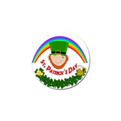St  Patrick Golf Ball Marker (4 Pack) by Valentinaart