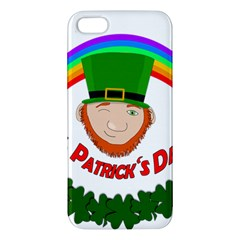 St  Patrick Iphone 5s/ Se Premium Hardshell Case by Valentinaart