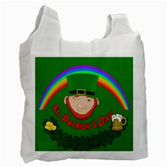 St  Patrick s Day Recycle Bag (one Side) by Valentinaart