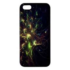 Fractal Flame Light Energy Iphone 5s/ Se Premium Hardshell Case