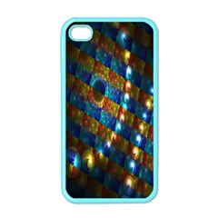 Fractal Digital Art Apple Iphone 4 Case (color)